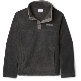 Columbia Steens Mountain 1/4 Snap Pullover In Pile Bambino, charcoal heather